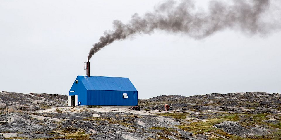 Garbage incinerator in Greenland. Photo: iStock / olli0815